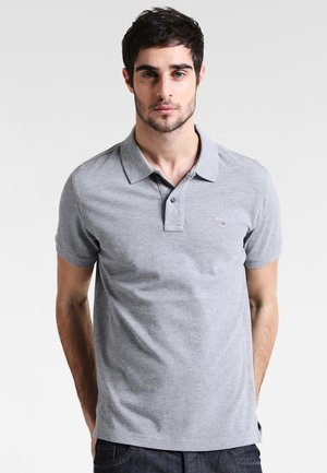 THE ORIGINAL RUGGER - Polo - grey melange