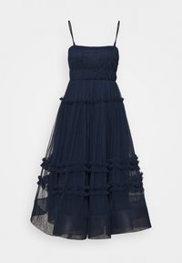 Lace & Beads - SHAY MIDI DRESS - Cocktailkjole - navy - 4