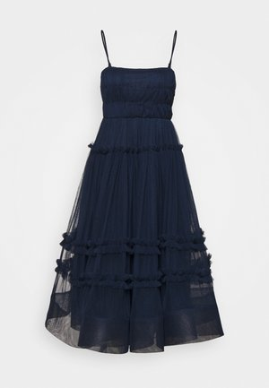 SHAY MIDI DRESS - Cocktailkjole - navy