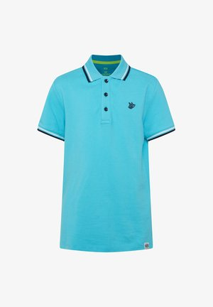 Polo shirt - bright blue