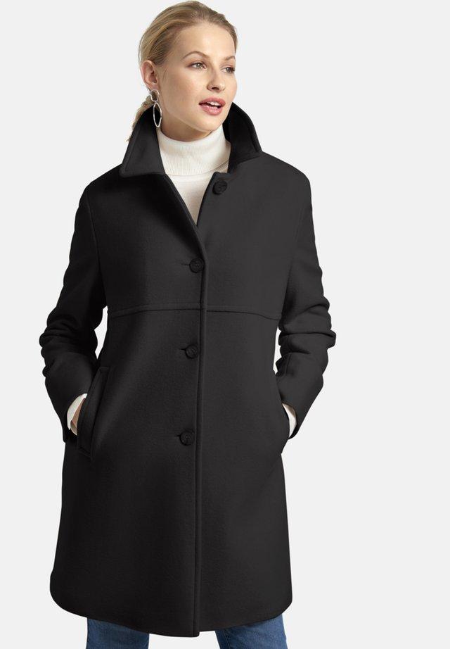 MIT EINGRIFFTASCHEN - Classic coat - schwarz