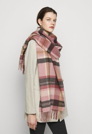 DIPPER CHECK  - Scarf - light pink