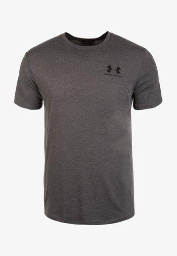 Basic T-shirt - charcoal medium heather