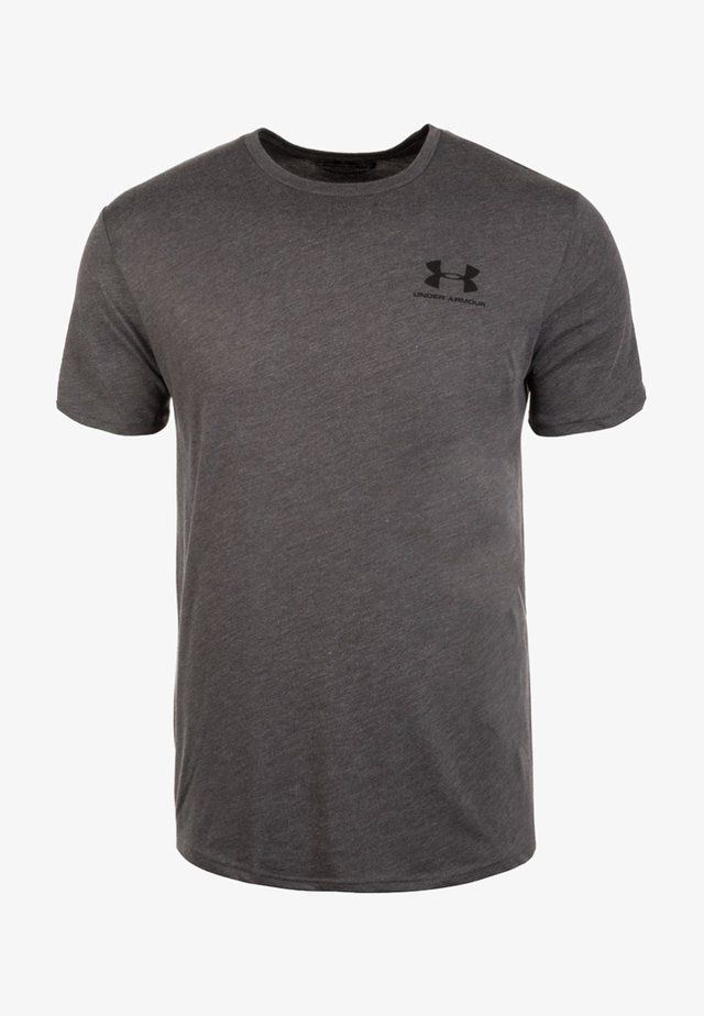 SPORTSTYLE LEFT CHEST - T-shirt basic - charcoal medium heather