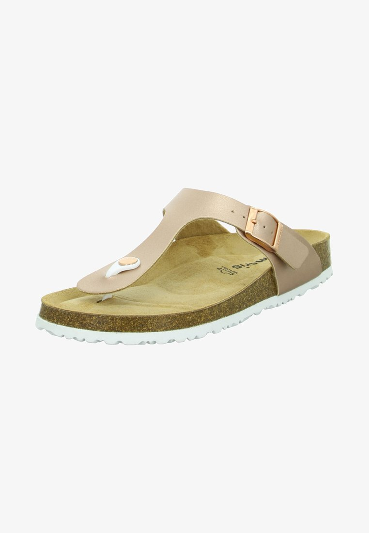Tamaris - T-bar sandals - rose gold