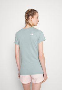 The North Face - EASY TEE - Print T-shirt - tourmaline blue - 2