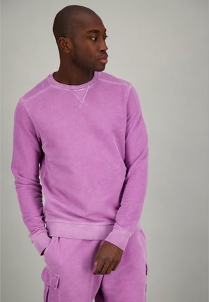 Sweater - chinese violet