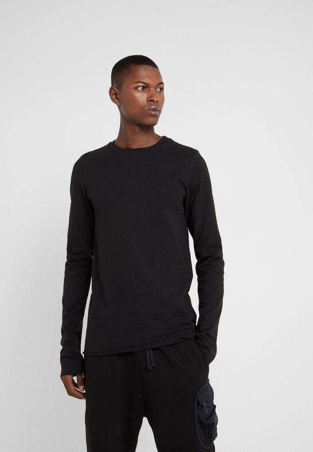 TALE - Long sleeved top - black