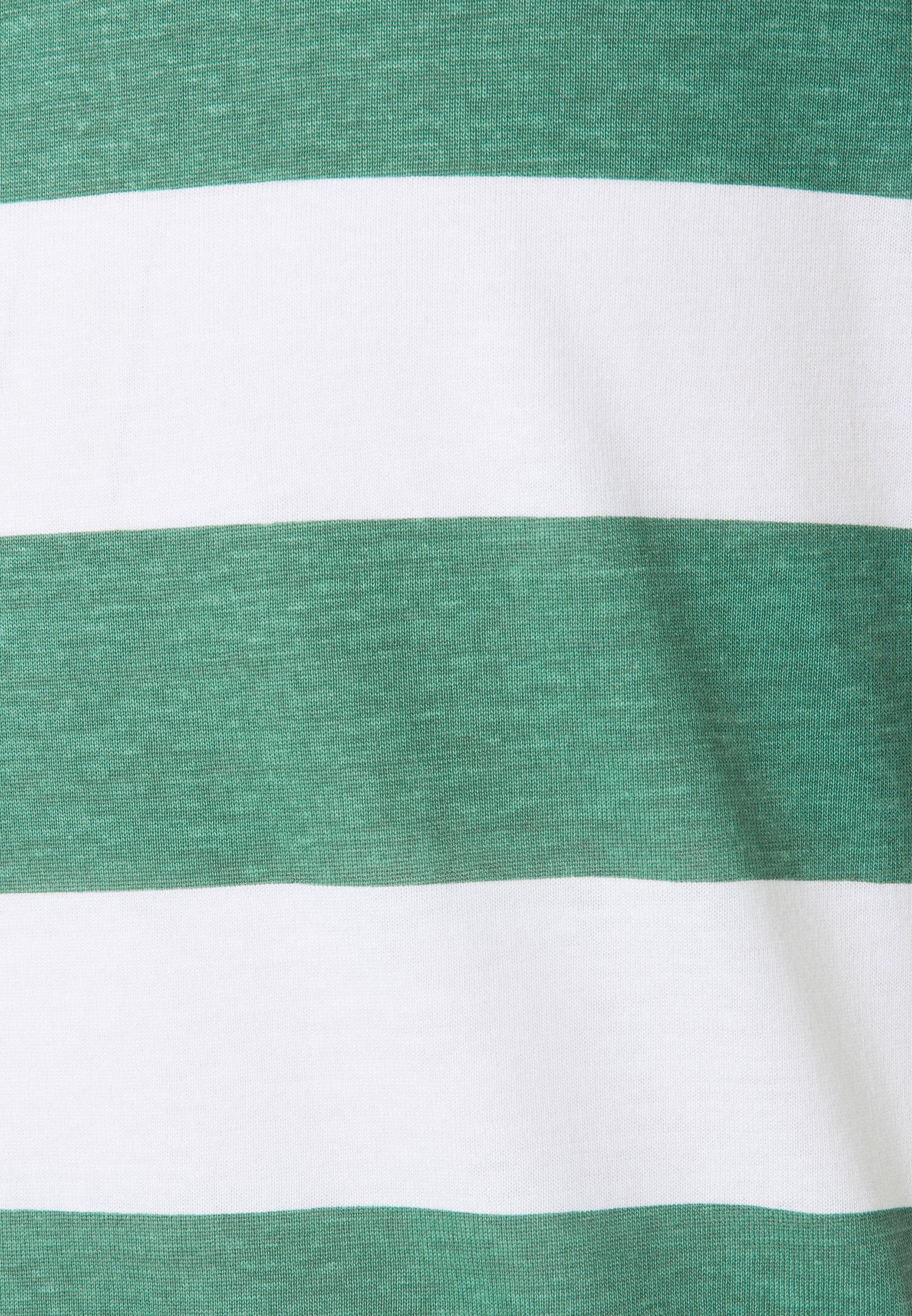 Brave Soul Print T-shirt - jade green/ white 7zRWQ