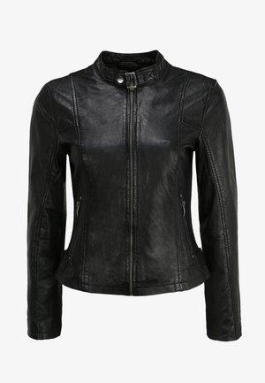 BE LIKED - Leather jacket - black
