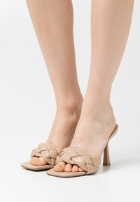 Even&Odd - Heeled mules - beige - 0