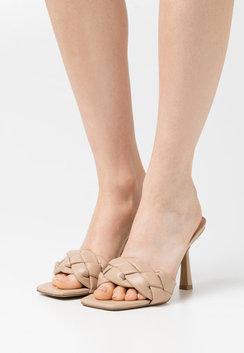 Even&Odd - Heeled mules - beige