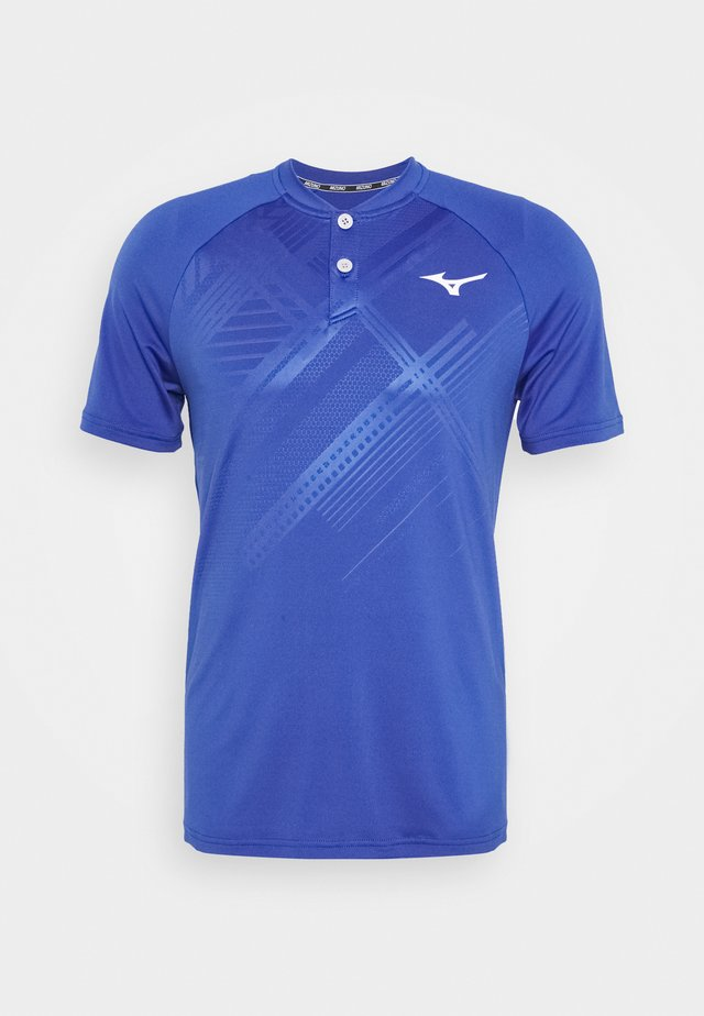 SHADOW - Print T-shirt - mazarine blue
