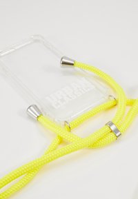 Urban Classics - I PHONE 8 HANDY NECKLACE - Obal na telefon - transparent/ yellow