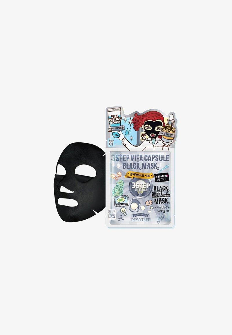 DEWYTREE - 3-STEP VITA CAVIAR CAPSULE BLACKMASK - Face mask - -