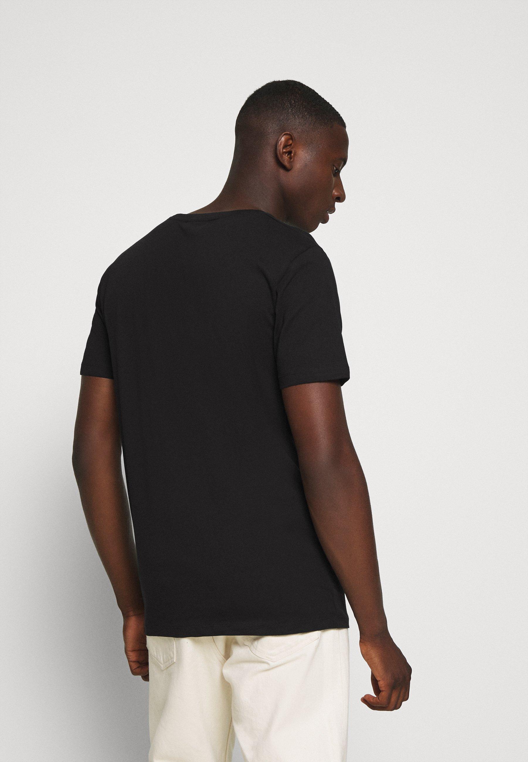 Minimum LUKA  - Basic T-shirt - black DGz4c