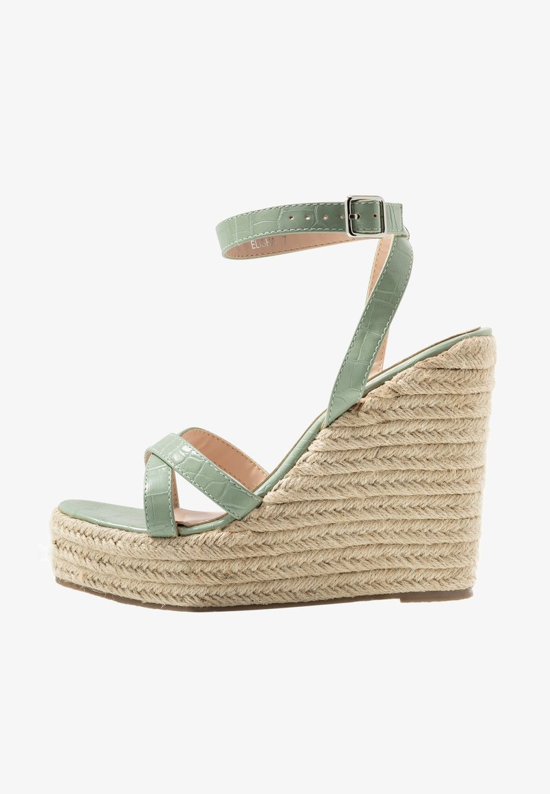 RAID - ELISHA - Sandály na vysokém podpatku - mint