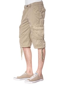 Alpha Industries - JET - Shorts - beige - 1