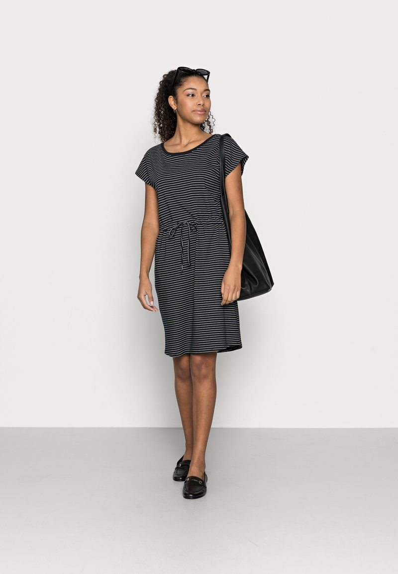 Vero Moda Petite - VMAPRIL SHORT DRESS 2 PACK - Jerseykjole - black/black /snow white