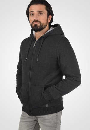 Zip-up hoodie - charcoal mix