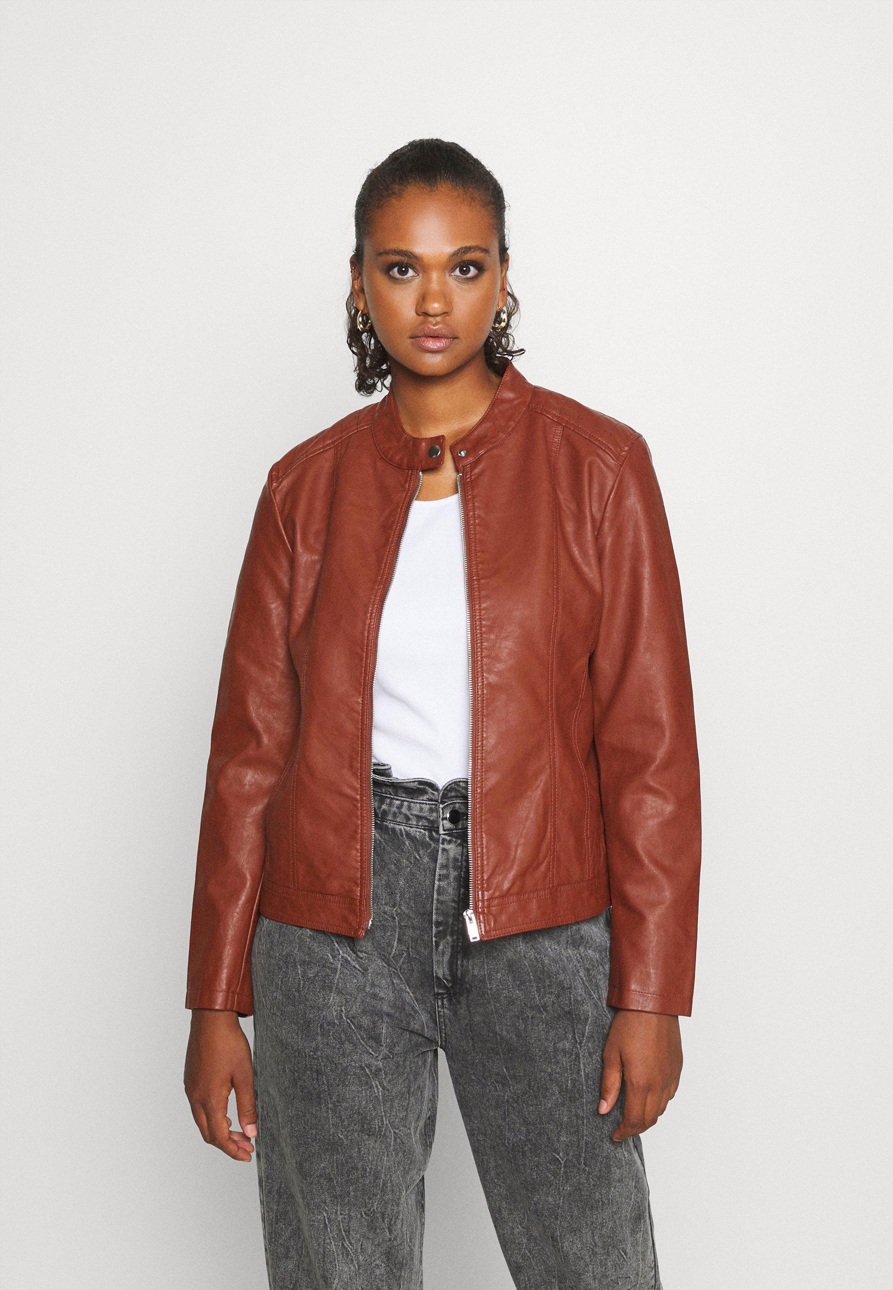 Women JDYSTORMY - Faux leather jacket
