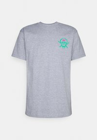 Obey Clothing - RAW POWER NEON - Printtipaita - heather grey - 0