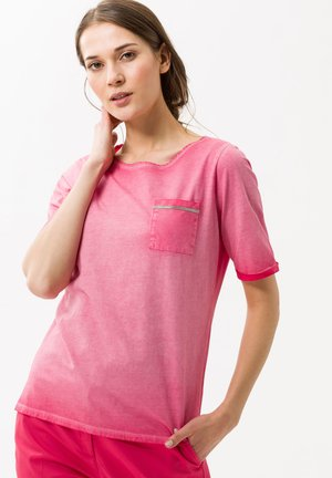 STYLE COLETTE - Print T-shirt - papaya
