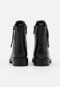 Carmela - LADIES BOOTS  - Lace-up ankle boots - black - 3