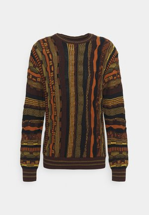 VINTAGE - Jumper - red/multi