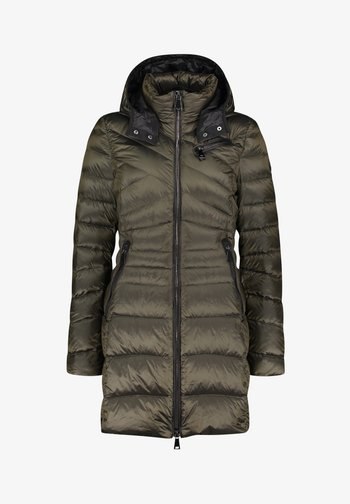 SINTÉTICOS MIT ABNEHMBARER - Down coat - dark khaki