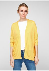 QS by s.Oliver - Cardigan - yellow melange - 0