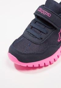 Kappa - Sports shoes - navy/pink - 2