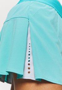 ASICS - TENNIS PLEATS SKORT - Sports skirt - techno cyan - 4