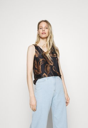 ZIMBA LEAF - Blouse - roasted hazel