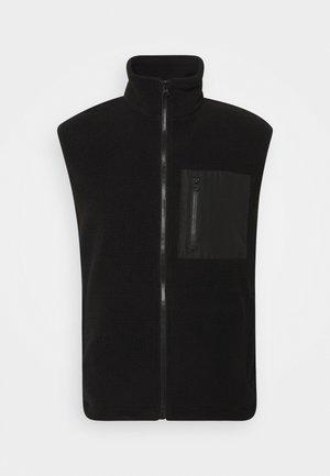 FALKEN - Waistcoat - black