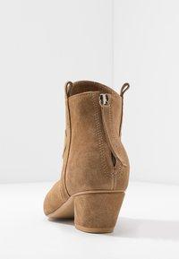 L37 - FEEL MY NEEDS - Cowboy/biker ankle boot - tan - 5