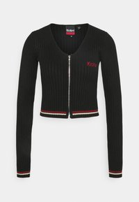 Kickers Classics - ZIP UP LONGSLEEVE - Cardigan - black - 0