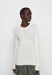Proenza Schouler White Label - BOBBLE BOUCLE - Jumper - off-white - 0