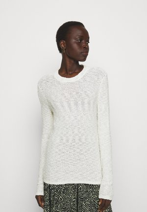 BOBBLE BOUCLE - Pullover - off-white