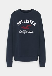 Hollister Co. - LOGO CREW - Sweatshirt - navy - 4