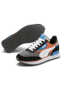 Puma - FUTURE RIDER PLAY ON YOUTH - Trainers - ultra gray-white- black - 2