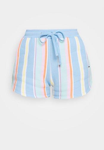 STRIPE - Shorts - light powdery blue