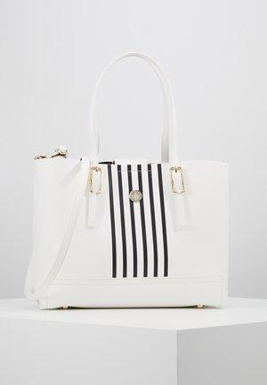 HONEY MED TOTE STRIPE SET - Handbag - white