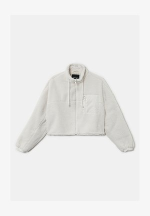 MISSING TITLE - Fleece jacket - white