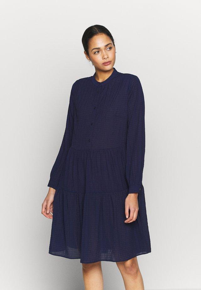 VALIS - Košilové šaty - midnight