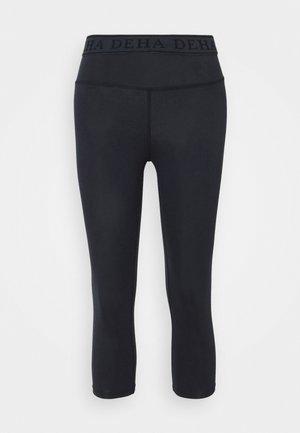 LEGGINGS 3/4 - 3/4 sportovní kalhoty - night blue