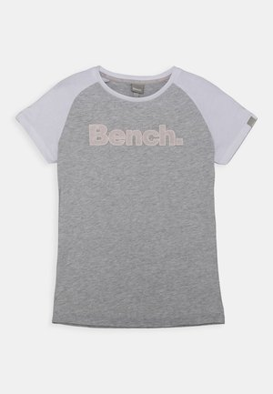 NICOLINA - Camiseta estampada - grey