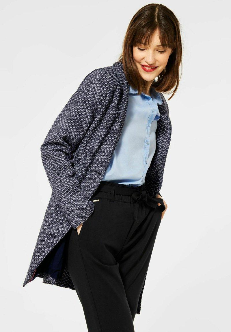 Street One - Short coat - blau