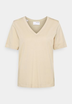 SEASONAL - T-shirt basic - white pepper