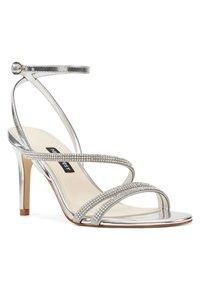 Nine West - High heeled sandals - silver - 1